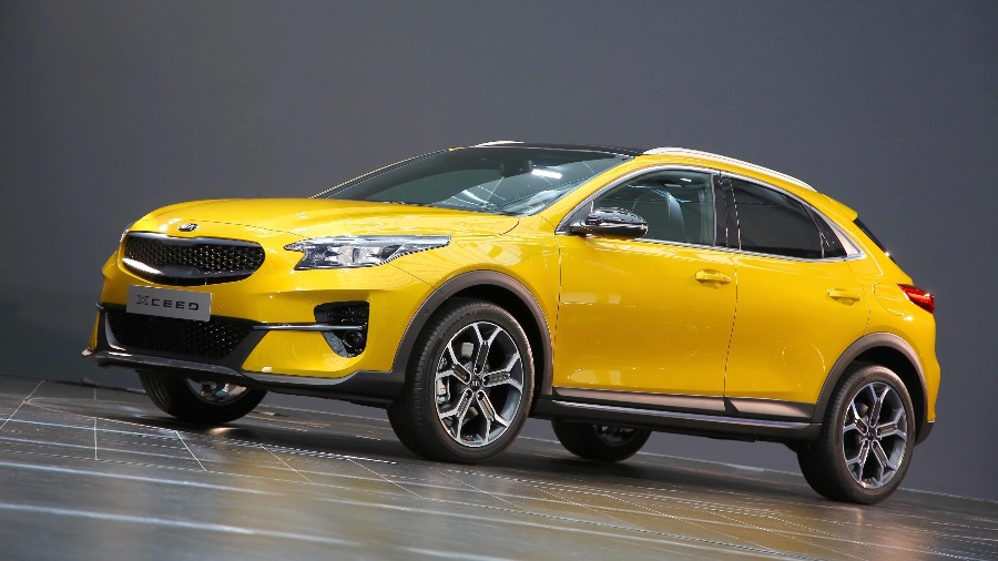 The all-new Kia XCeed is a new urban crossover